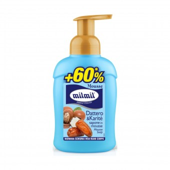 MIL MIL SAPONE MOUSSE COMPLETO DATTERO & KARITE' 450 ML