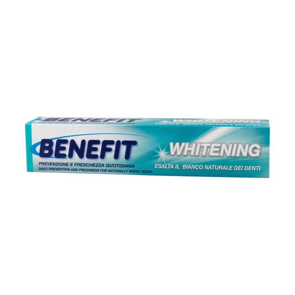 BENEFIT DENTIFRICIO WHITENING 75 ML, DENTIFRICI, S039281, 86536