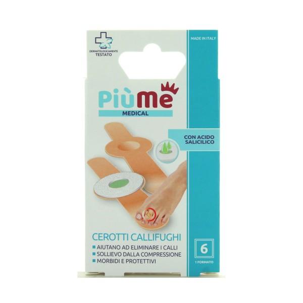 PIUME CEROTTI CALLIFUGHI DISCO CENTRALE 6 PZ, MEDICAZIONE & PRONTO SOCCORSO, S160394, 86914