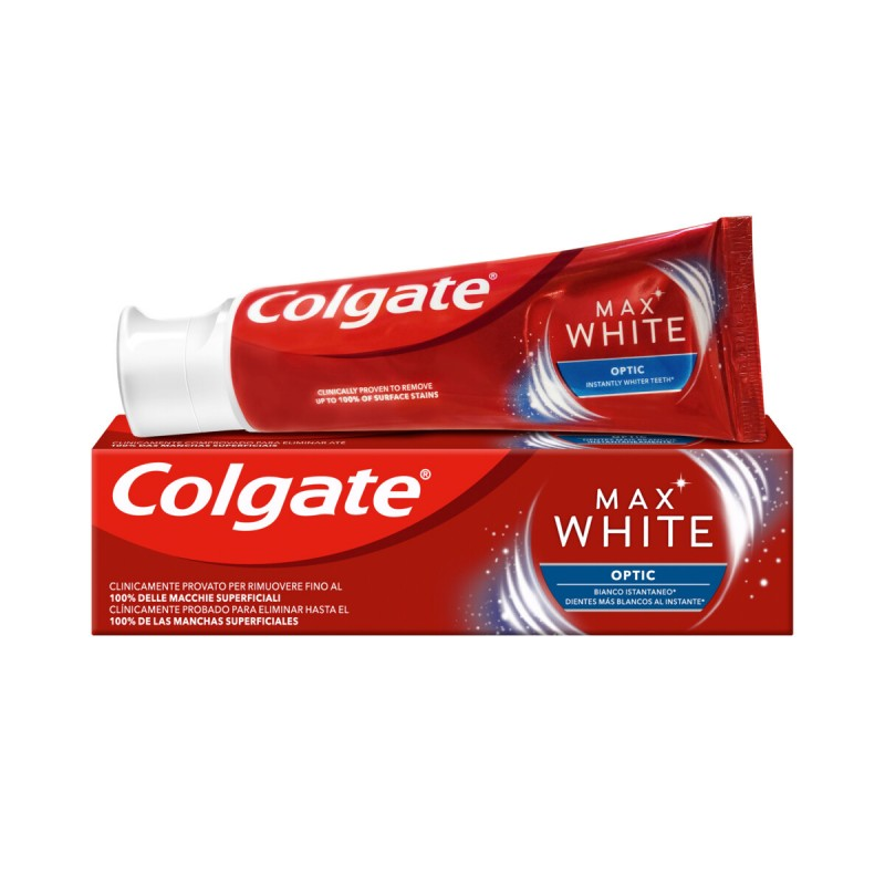 COLGATE DENTIFRICIO MAX WHITE OPTIC 75 ML