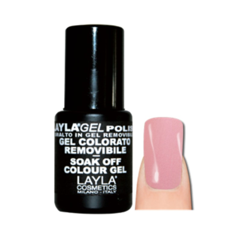 LAYLA SMALTO IN GEL COLORATO REMOVIBLE N.143 CRISPY PINK