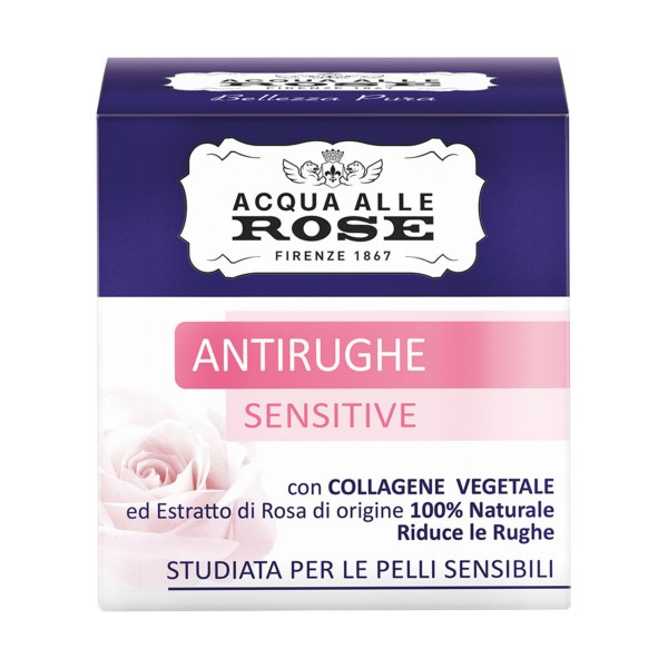 ROBERTS ACQUA ALLE ROSE ANTIRUGHE SENSITIVE PELLI SENSIBILI 50 ML, CURA VISO DONNA, S160570, 87103