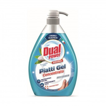 DUAL POWER PIATTI GEL CONCENTRATO BICARBONATO & SALVIA 1000 ML