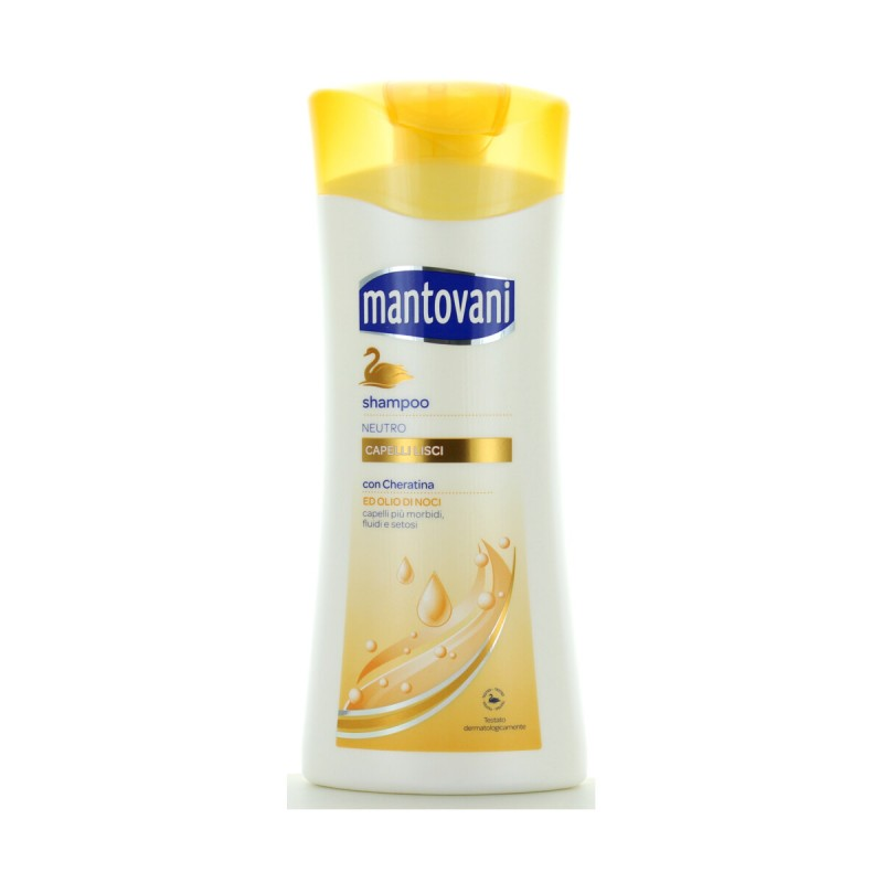 MANTOVANI SHAMPOO NEUTRO CAPELLI LISCI 400 ML.
