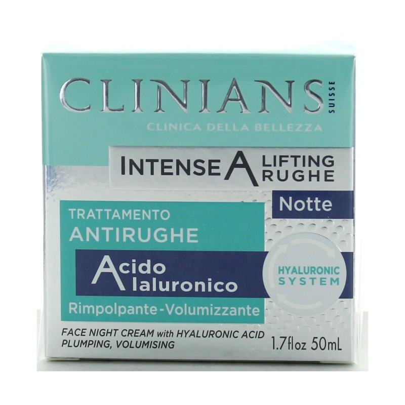 CLINIANS CREMA VISO INTENSE A NOTTE 50ML