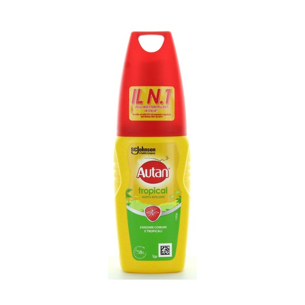 AUTAN TROPICAL REPELLENTE ANTIPUNTURA VAPO 100 ML, INSETTOREPELLENTI/DOPO PUNTURA, S096599, 87932