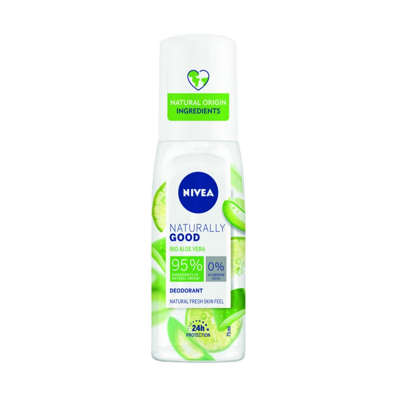 NIVEA NATURALLY GOOD DEODORANT VAPO BIO ALOE VERA 75 ML
