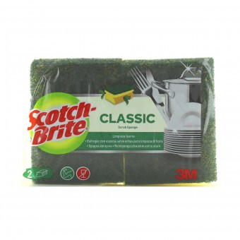 SCOTCH BRITE STROFINETTO SPUGNA SALVA DITA  2 PZ.