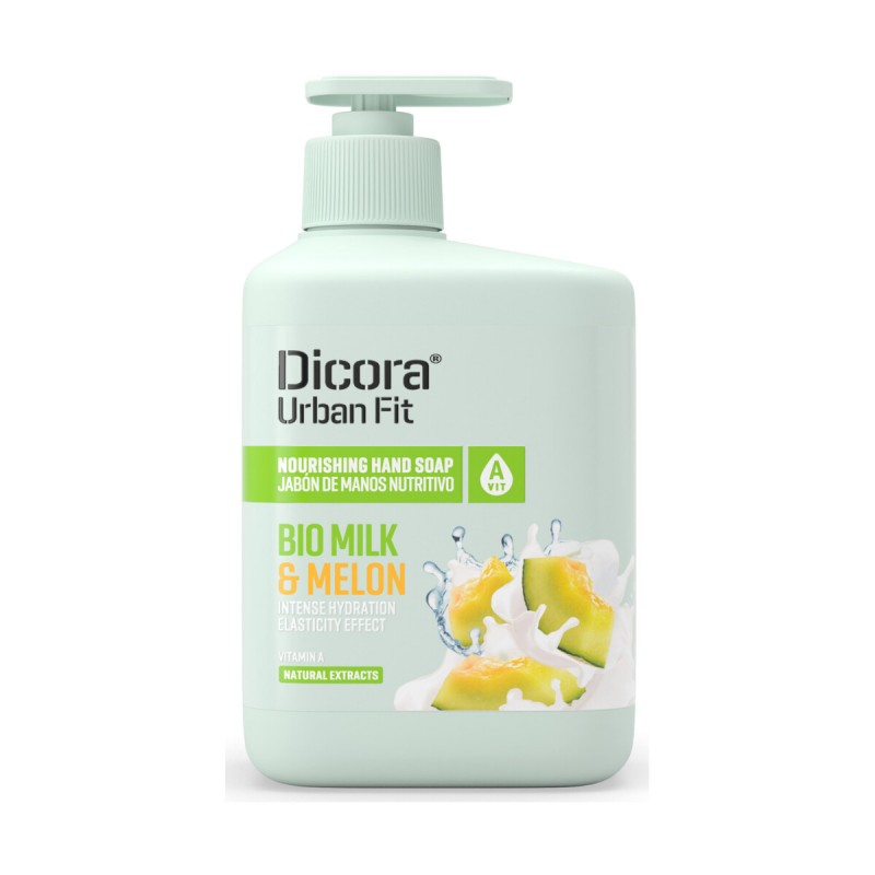 DICORA URBAN FIT SAPONE LIQUIDO BIO MILK & MELON VITAMINA A 500 ML