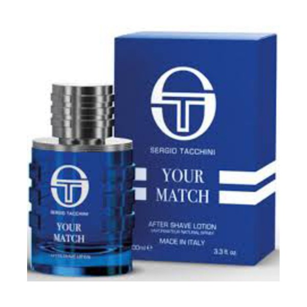 SERGIO TACCHINI UOMO YOUR MATCH AFTER SHAVE LOTION VAPO 100 ML , DOPOBARBA, S157949, 88398