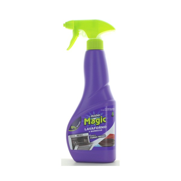 MISTER MAGIC LAVAFORNO e BARBECUE SPRAY 500 ML  , PULITORI FORNI/CAMINI/STUFE E ALTRI ELETTRODOMESTICI, S147510, 88449