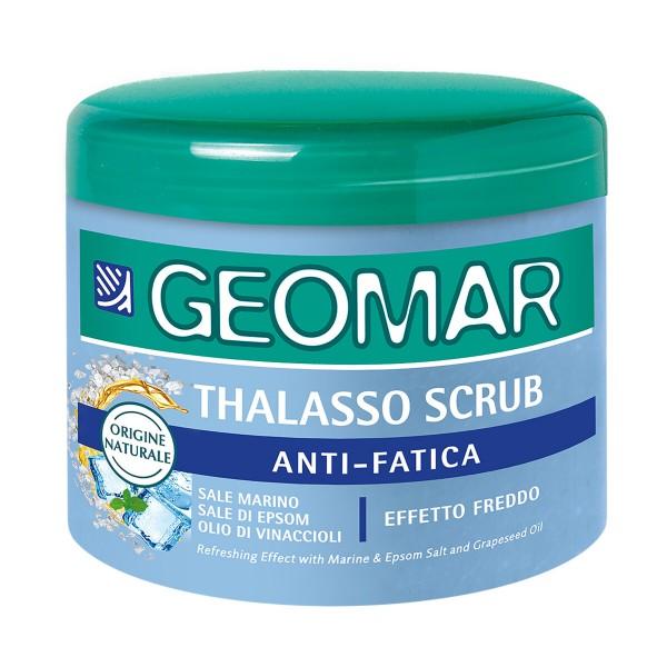 GEOMAR THALASSO SCRUB ANTI-FATICA EFFETTO FREDDO VASO 600 grammi  , TRATTAMENTO CORPO, S161406, 88549