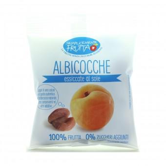SEMPLICEMENTE FRUTTA ALBICOCCHE ESSICATE AL SOLE BUSTA 150 grammi