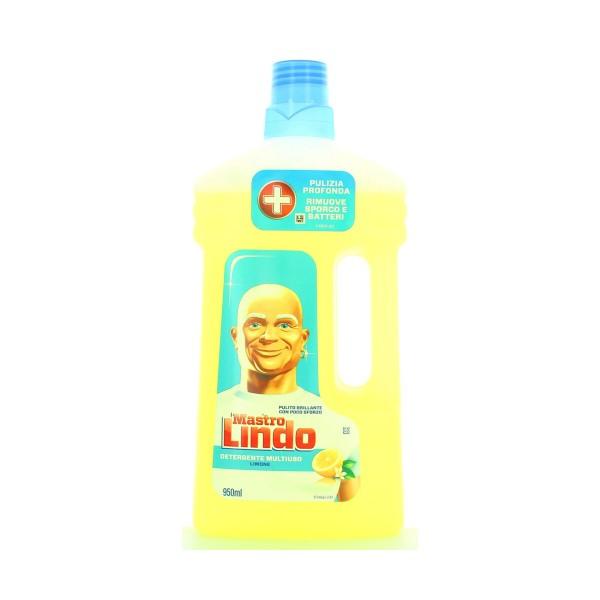 MASTRO LINDO DETERGENTE LIMONE 950 ML, PAVIMENTI, S000967, 88725