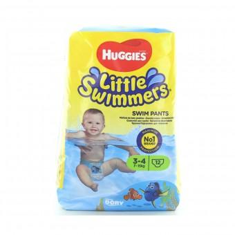 HUGGIES LITTLE SWIMMERS MUTANDINA BAMBINO SMALL TAGLIA 3-4  7-15 KG 12 PZ PANNOLINI