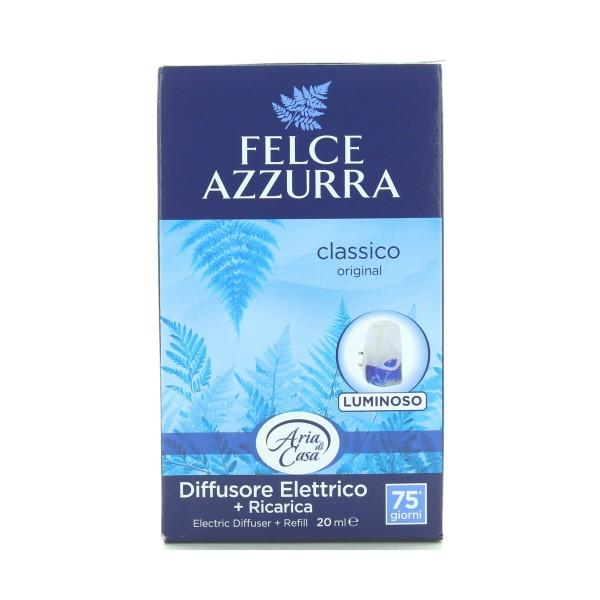 FELCE AZZURRA ARIA DI CASA DIFFUSORE ELETTRICO + RICARICA TALCO CLASSICO 20 ML, DEODORANTI AZIONE CONTINUA, S044298, 89010