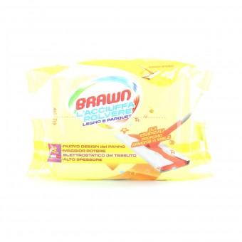 BRAWN L'ACCIUFFAPOLVERE PARQUET 12 PANNI