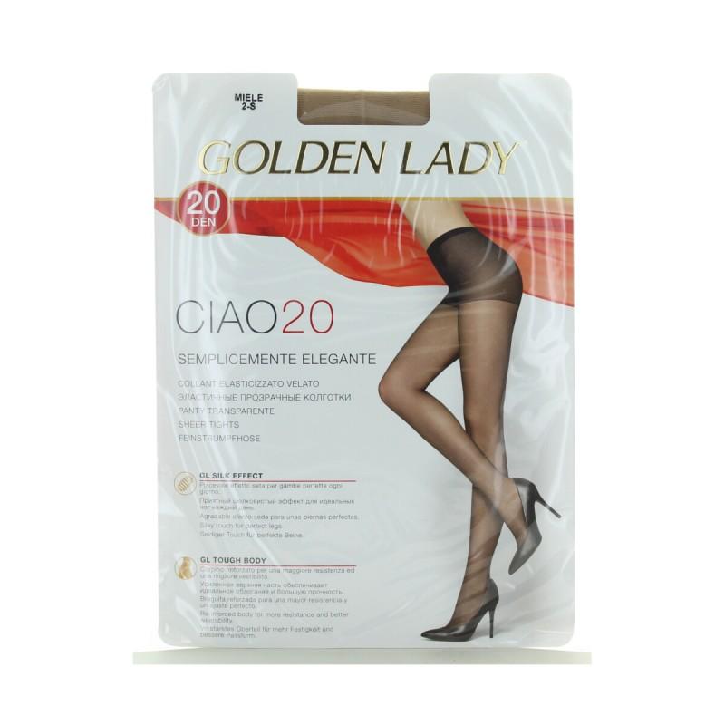 GOLDEN LADY CIAO COLLANT 20 DENARI MIELE TAGLIA 2 - S