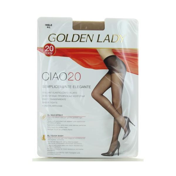 GOLDEN LADY CIAO COLLANT 20 DENARI MIELE TAGLIA 4 - L, CALZE, COLLANT & GAMBALETTI, S157018, 89112