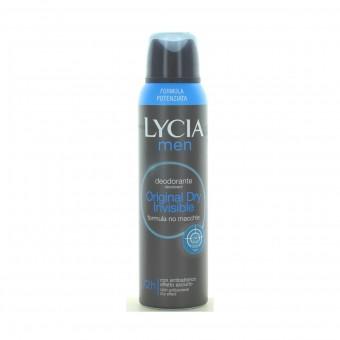 LYCIA MEN ANTIODORANTE DEODORANTE SPRAY 72H ORIGINAL DRY 150 ML