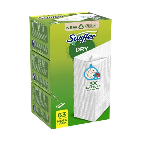 SWIFFER PANNO CATTURA POLVERE 63 PZ., SCOPE / PANNI E ACCESSORI PAVIMENTI, S112378, 89603
