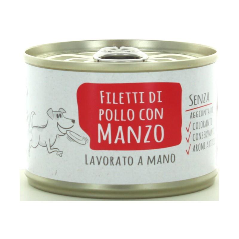 ADOC DOG DI POLLO CON MANZO 170GR