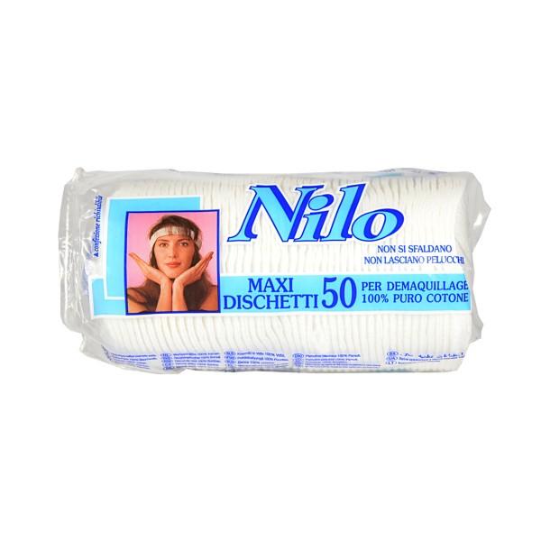 NILO DISCHETTI MAXI 50 PZ., COTONE, S005492, 8986