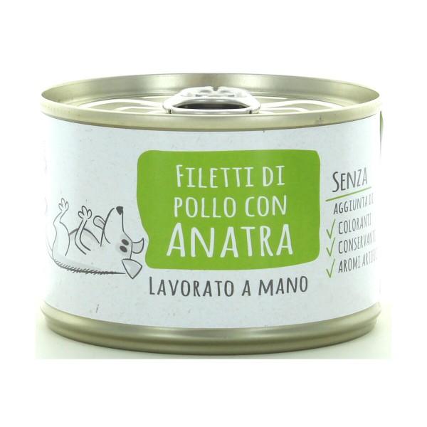 ADOC DOG FILETTI DI POLLO CON ANATRA 170GR, NUTRIZIONE, S099315, 89923