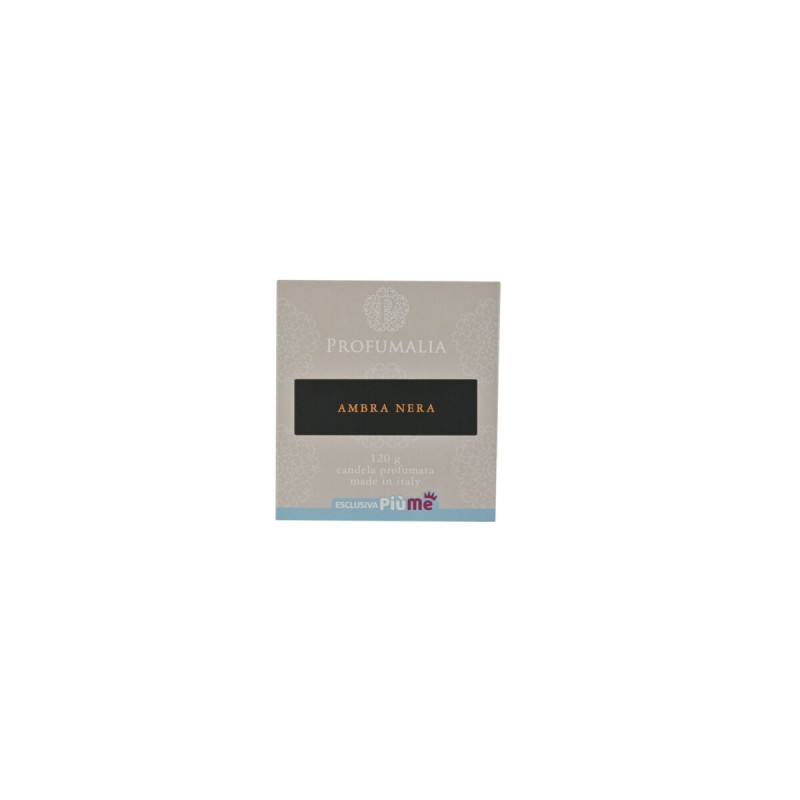 PROFUMALIA CANDELA PROFUMATA AMBRA NERA VASETTO 120 grammi