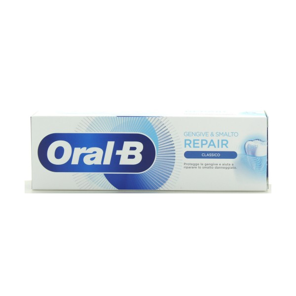 ORAL B DENTIFRICIO GENGIVE & SMALTO REPAIR CLASSICO 75 ML, DENTIFRICI, S154471, 90079
