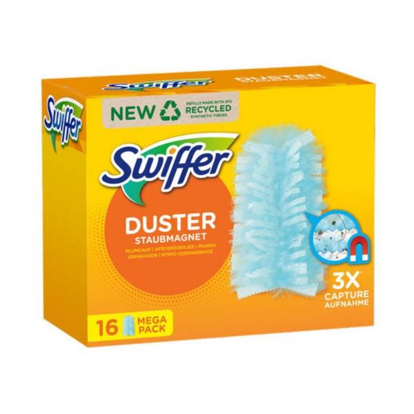 SWIFFER DUSTER CATTURA POLVERE 16 PIUMINI, SCOPE / PANNI E ACCESSORI PAVIMENTI, S143105, 90126
