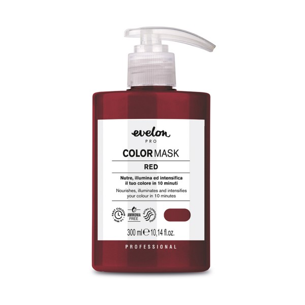 EVELON PRO COLOR MASK RED 10 MINUTI SENZA AMMONIACA 300 ML, COLORANTI, S157540, 90196