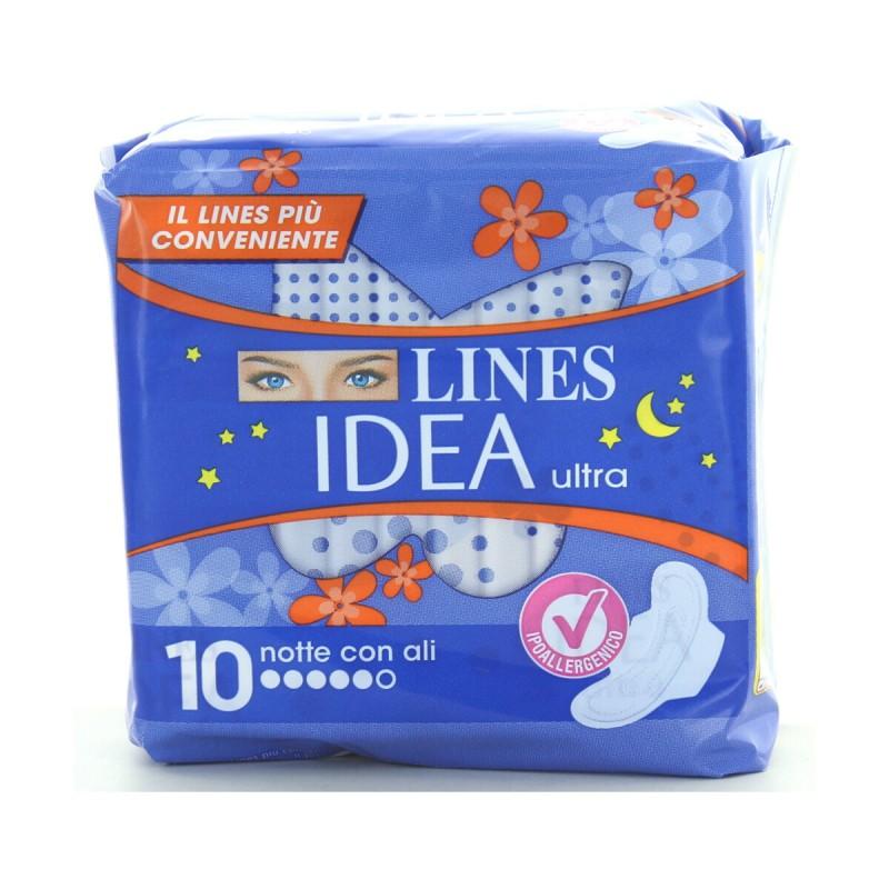 LINES IDEA ULTRA ALI NOTTE 10 PZ