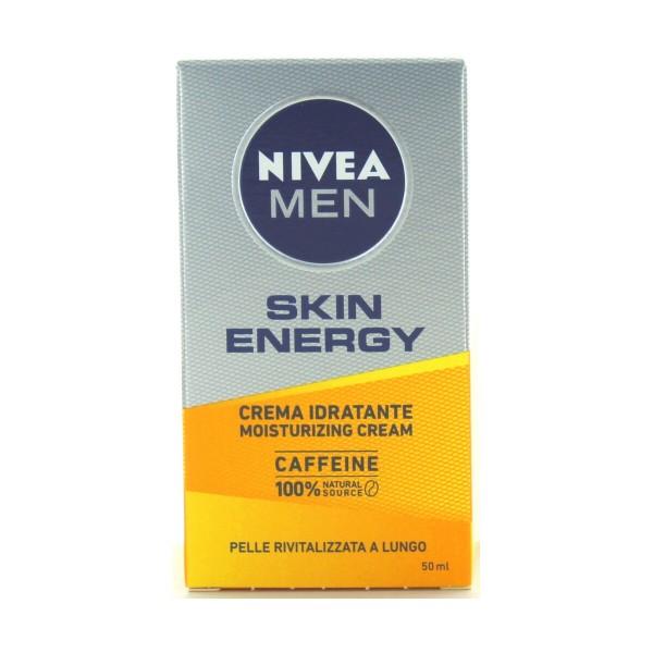 NIVEA FOR MEN CREMA VISO RIVITALIZZANTE Q10 50 ML, CURA VISO UOMO, S022901, 90597