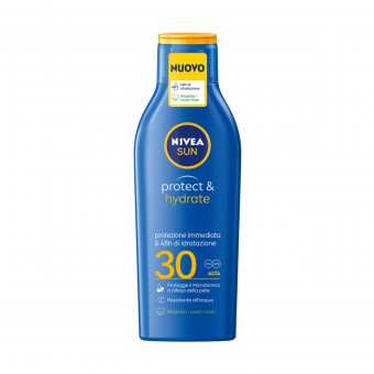 NIVEA SOLARE LATTE PROTECT & HYDRATE FP30 200 ML