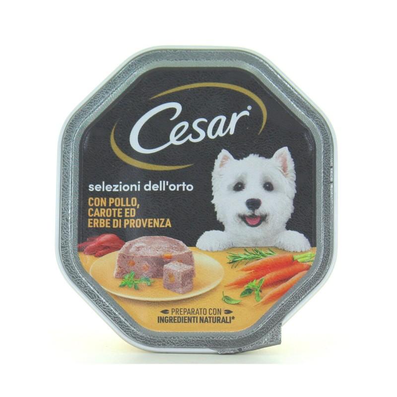 CESAR DELICATO PATE' POLLO & CAROTINE VASCHETTA 150g
