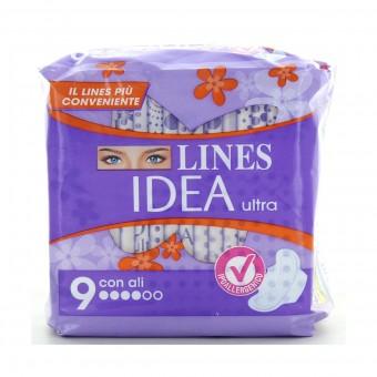 LINES IDEA ULTRA GIORNO ALI 9 PZ