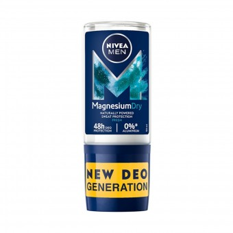 NIVEA FOR MEN DEODORANTE ROLL-ON MAGNESIUM DRY FRESH 50 ML