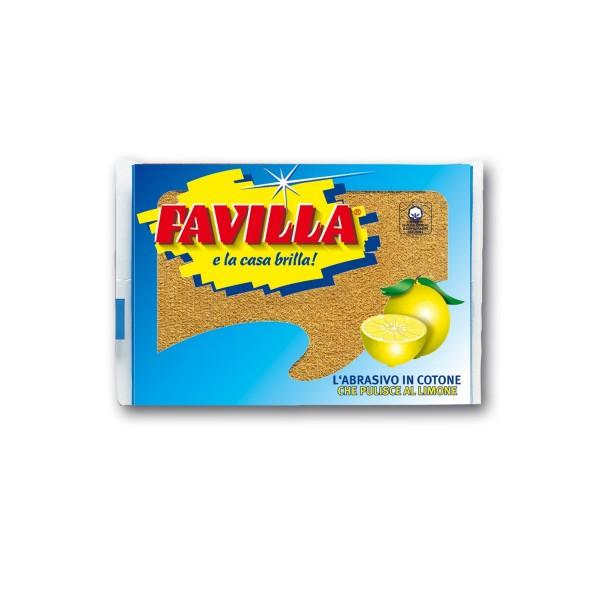 FAVILLA SPUGNA ABRASIVA, SPUGNE PIATTI E CUCINA/PANNI SPUGNA, S000647, 9132