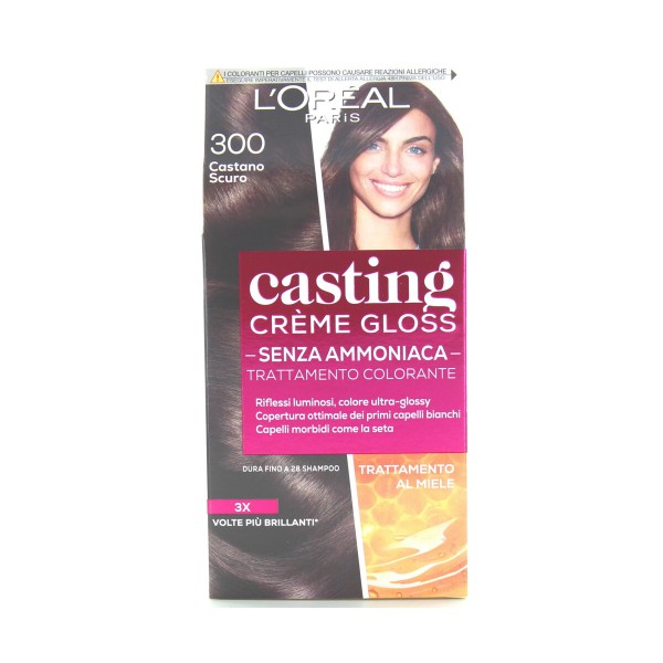 CASTING CREME GLOSS 300 CASTANO SCURO      , COLORANTI, S039256, 91467