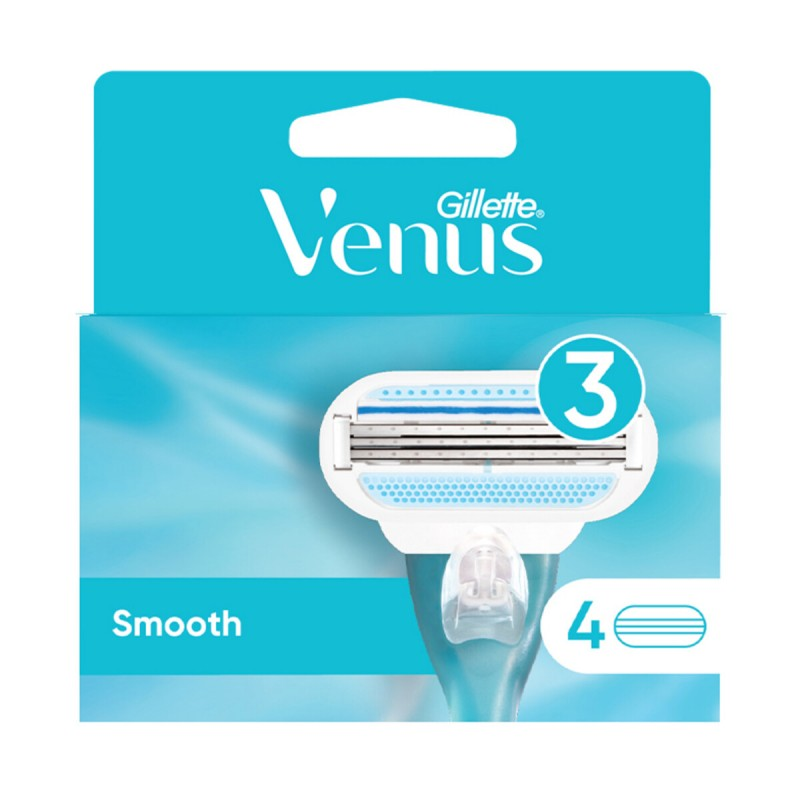GILLETTE VENUS RICAMBI SMOOTH 4 PZ
