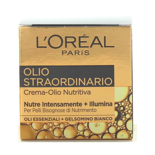 L'OREAL OLIO STRAORDINARIO CREMA OLIO VISO NUTRITIVO 50 ML, CURA VISO DONNA, S125053, 92510