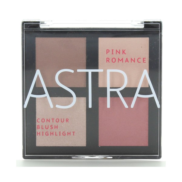 ASTRA BLUSH ROMANCE PINK PALETTE, VISO, S153532, 92672