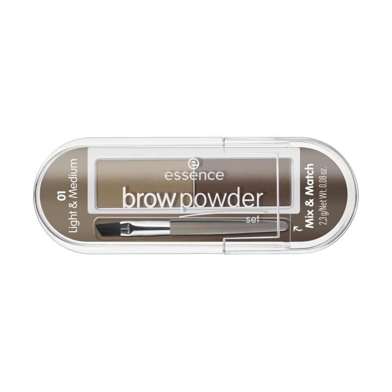 ESSENCE BROW POWDER SET PER SOPRACCIGLIA 01