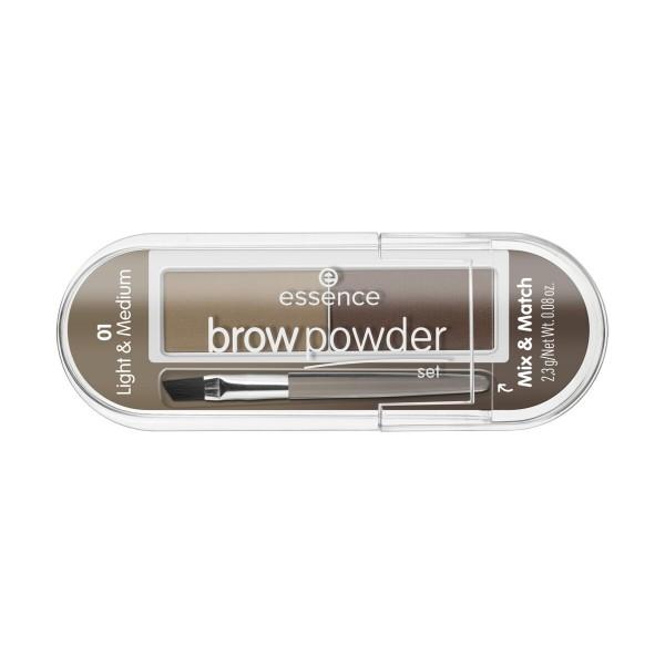 ESSENCE BROW POWDER SET PER SOPRACCIGLIA 01, OCCHI, S162208, 93101