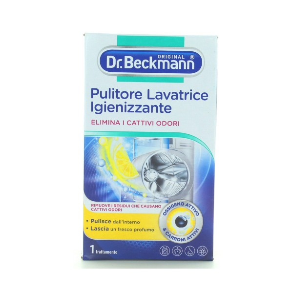 Dr.BECKMANN PULITORE LAVATRICE IGIENIZZANTE, ANTICALCARE LAVATRICE, S142520, 93367
