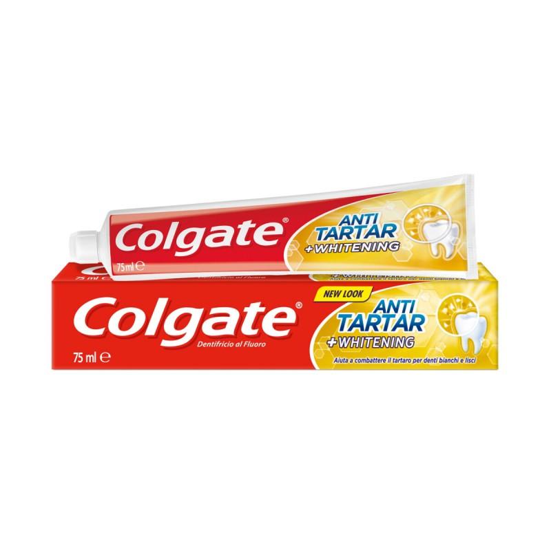 COLGATE DENTIFRICIO ANTITARTARO PLUS WHITENING 75 ML.