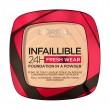 L'OREAL FONDOTINTA INFAILLIBLE POWDER COMPATTO 24H COLORE 40  , VISO, S161757, 94522