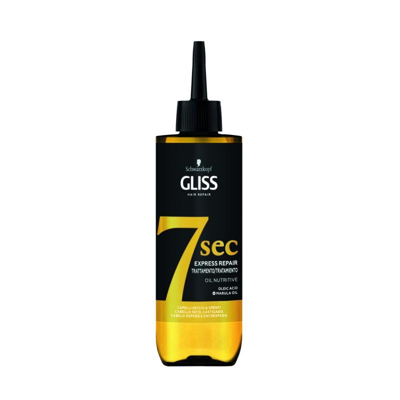 GLISS TRATTAMENTO 7 SEC OIL NUTRITIVE CAPELLI SECCHI & SPENTI 200 ML