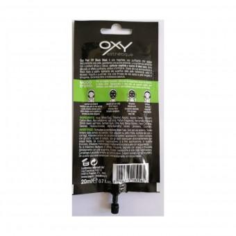 OXY VISO PEEL OFF BLACK MASK SACHET 20 ML